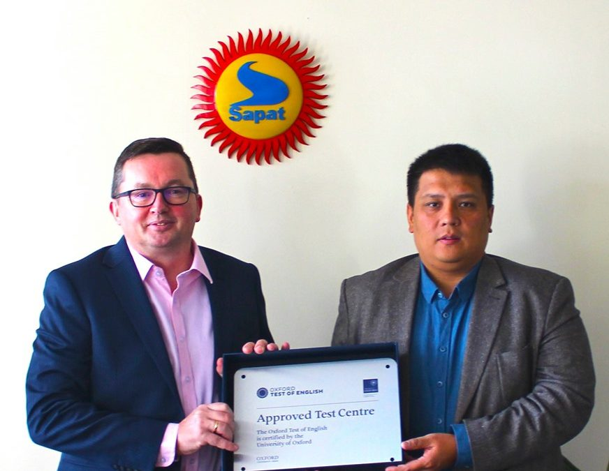 «Сапат» билим берүү мекемеси Кыргызстанда жана Борбордук Азияда Оксфорддук сынактарды кабыл алуу боюнча расмий тест-борбору деген статуска ээ болду